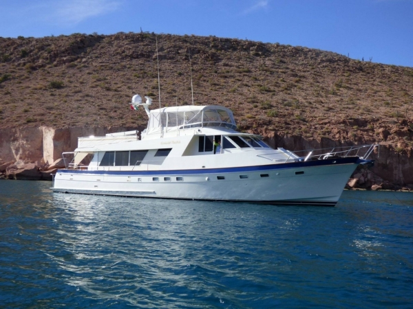 Nordlund 72ft Pilothouse Motor Yacht 1987 YX0100000246